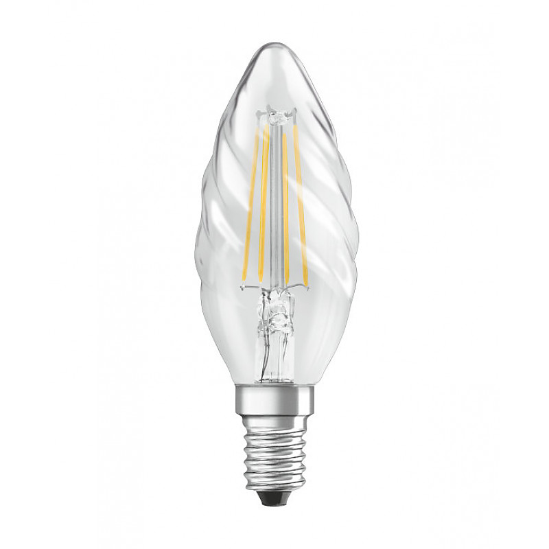 Led лампа з цоколем Е14 кручена свічка : АСТ-Світлотехніка Київ SVT.org.UA