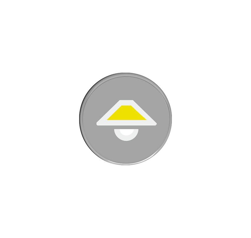 Кнопка с символом Свет : АСТ-Светотехника Киев SVT.org.UA