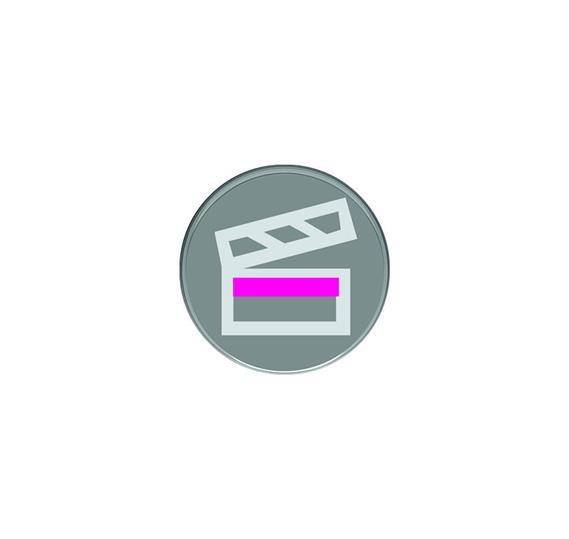 Кнопка с символом Сцена : АСТ-Светотехника Киев SVT.org.UA