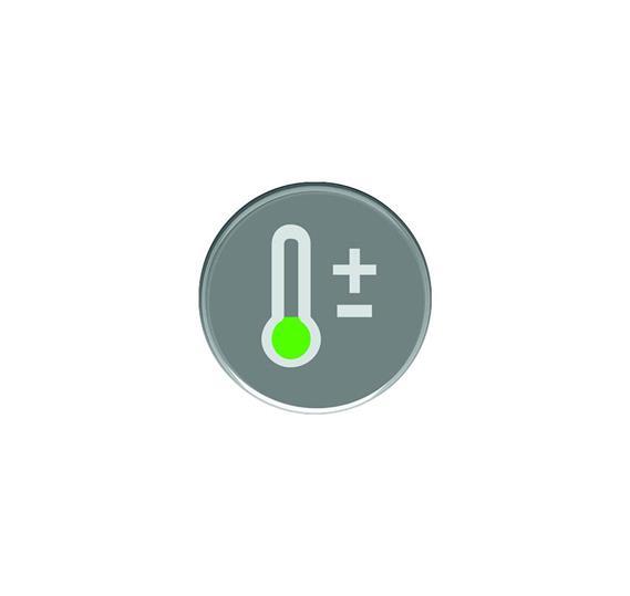 Кнопка с символом Температура : АСТ-Светотехника Киев SVT.org.UA