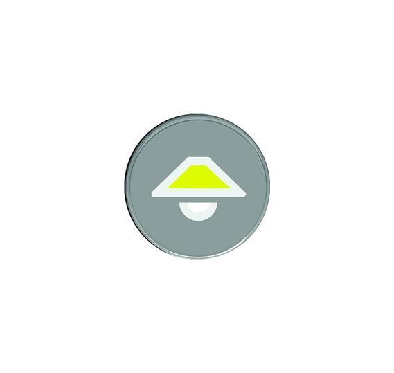 Кнопка с символом Верхний свет : АСТ-Светотехника Киев SVT.org.UA