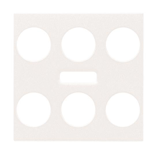Центральная плата для 3/6 канального KNX сенсора  c ИК приемником серии Zenit. Стальной   суппорт заказывается отдельно. : АСТ-Светотехника Киев SVT.org.UA