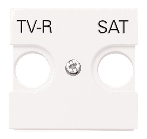 Накладка для телевизионных розеток TV-R/SAT  арт. 8151.3, 8151.7 и 8151.8Zenit : АСТ-Светотехника Киев SVT.org.UA