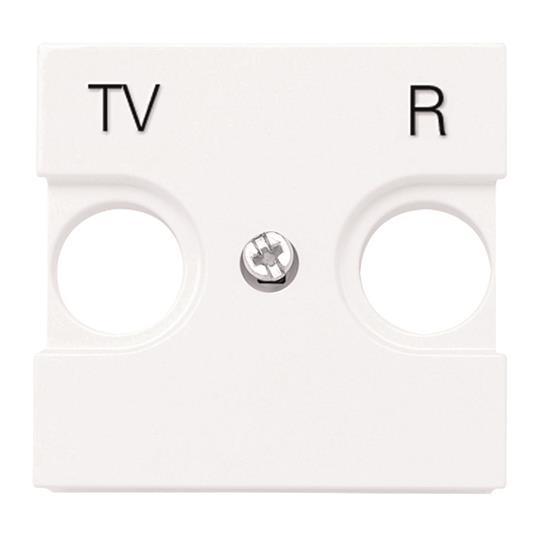 Накладка для телевизионных розеток TV-R   арт. 8150, 8150.3, 8150.7, 8150.8  Zenit : АСТ-Светотехника Киев SVT.org.UA