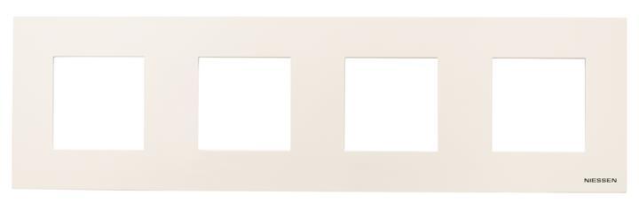 Рамка 4 постовая 2+2+2+2 модуля  Zenit : АСТ-Светотехника Киев SVT.org.UA