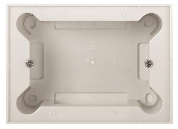 Коробка для открытого монтажа на 3 модуля.  Для установки с рамкой.Zenit : АСТ-Светотехника Киев SVT.org.UA