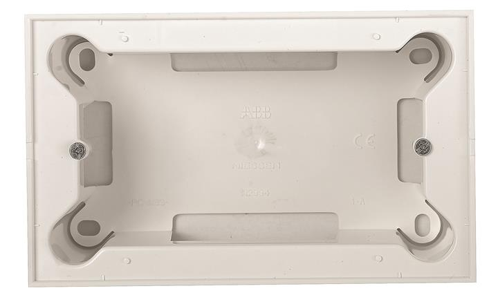 Коробка для открытого монтажа на 4 модуля.  Для установки с рамкой.Zenit : АСТ-Светотехника Киев SVT.org.UA