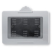 Коробка для открытой установки,  IP40 на 3модуляZenit : АСТ-Светотехника Киев SVT.org.UA