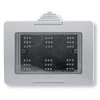 Коробка для открытой установки,  IP55 на 3модуляZenit : АСТ-Светотехника Киев SVT.org.UA