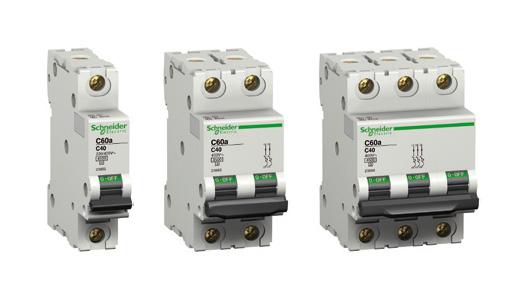 Модульні автоматичні вимикачі Schneider Electric : АСТ-Світлотехніка Київ SVT.org.UA