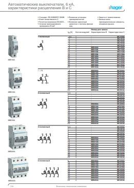 Розділ каталогу автоматичні вимикачі Hager : АСТ-Світлотехніка Київ SVT.org.UA