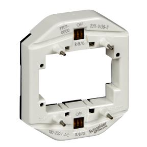 Світлодіодний модуль підсвітки  для 2-клавішних / 2-кнопкових вимикачів  , що використовується в якості індикатора  8-32 В, багатокольоровий : АСТ-Світлотехніка Київ SVT.org.UA