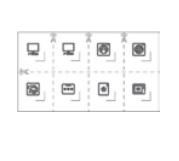 Комплект символів для електричних  розеток : АСТ-Светотехника Киев SVT.org.UA