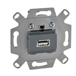 Механізм USB 2.0, одинарний : АСТ-Світлотехніка Київ SVT.org.UA