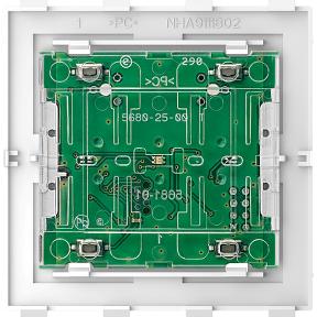 Модуль кнопкового вимикача Comfort,  2-клавішнийPlusLink : АСТ-Світлотехніка Київ SVT.org.UA