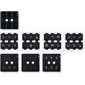 Комплект додаткових іконок  для кнопкових вимикачів  KNX Push-button Pro : АСТ-Світлотехніка Київ SVT.org.UA