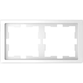 Рамка D-Life, 2 поста, термопласт : АСТ-Светотехника Киев SVT.org.UA