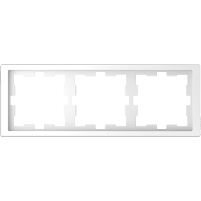 Рамка D-Life, 3 поста, термопласт : АСТ-Світлотехніка Київ SVT.org.UA
