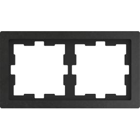 Рамка D-Life, 2 поста,камінь полірований : АСТ-Світлотехніка Київ SVT.org.UA