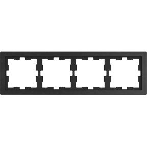 Рамка D-Life, 4 поста,камінь полірований : АСТ-Світлотехніка Київ SVT.org.UA