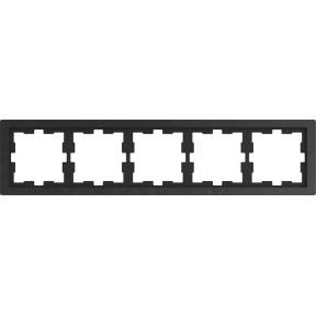 Рамка D-Life, 5 постів,камінь полірований : АСТ-Світлотехніка Київ SVT.org.UA