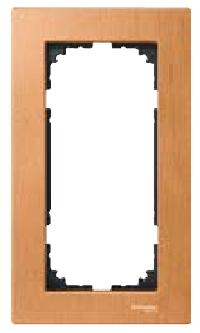 РамкаM-Elegance деревянная 2-поста  без перегородки : АСТ-Светотехника Киев SVT.org.UA