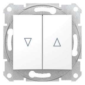 Вимикач для жалюзі з  електричним блокуванням 10 A - 250 В  з пружинними зажимами : АСТ-Світлотехніка Київ SVT.org.UA