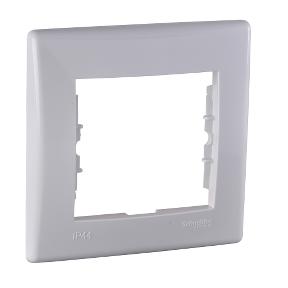 1 постовая рамка для выключателей или розеток IP44 : АСТ-Светотехника Киев SVT.org.UA