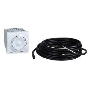 Терморегулятор для теплої підлоги10 А  (от +5°С до 45°С), датчик у комплекті : АСТ-Світлотехніка Київ SVT.org.UA